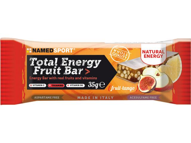 NAMEDSPORT Total Energy Boîte de barres aux fruits 25 x 35g, Tango